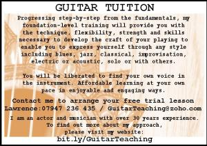 Lawrence O'Connor - Guitar Lessons