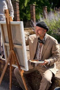 Lawrence O'Connor- as The Artist - The Portrait _ Dir. Enrique Rovira 2011