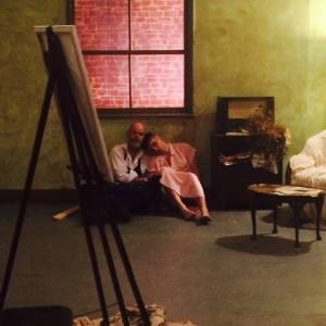 As David with Joe Gaminara in Murder of Crowes - 2015